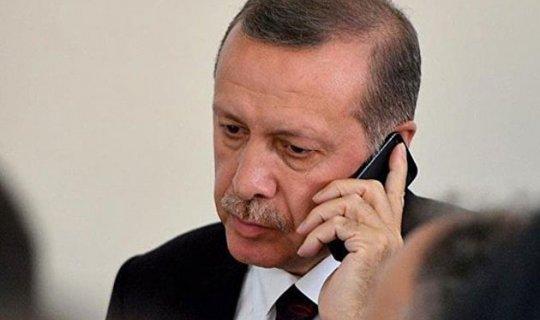 Erdoğan, Temimi'yi telefonla arayarak tebrik etti