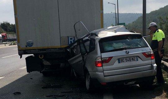 Fransa'dan tatile geldi, kazada öldü