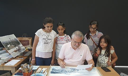 Hasan Kırdı Resim Sergisi Antalya'da sanatseverlerle buluşuyor