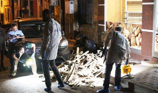Kağıthane'de ekmek fırınına silahlı saldırı