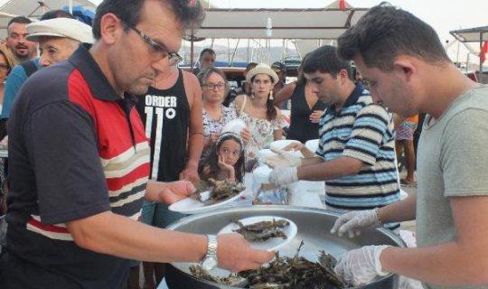 Kaş'ta Sokar Balığı Festivali yapıldı