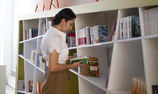 Kitap ve Oyuncak Kütüphanesi her yaşa açık