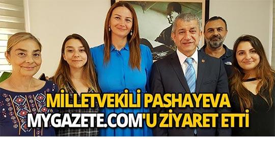 Milletvekili Pashayeva mygazete.com'a ziyaret
