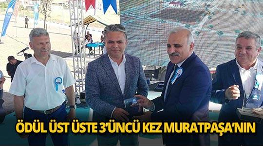 Muratpaşa'ya büyük onur