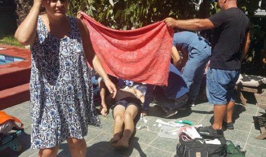 Rus turist, boğulma tehlikesi geçirdi