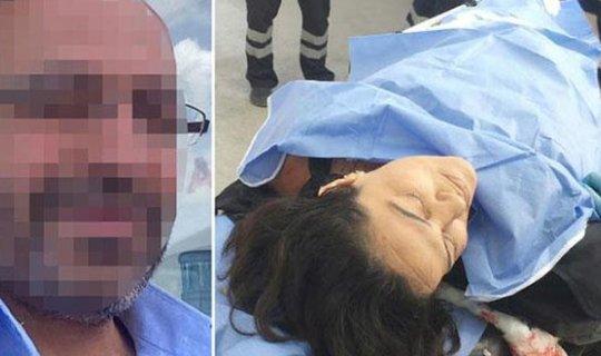 Sevgilisini öldürmeden önce kızını taciz etti