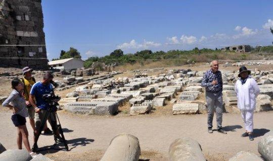 Side kazılarının belgeseli çekiliyor