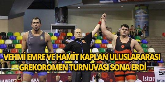 Vehbi Emre ve Hamit Kaplan Uluslararası Grekoromen Güreş Turnuvası sona erdi