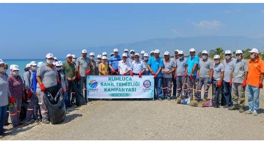 Antalya'da 'Sahil Temizliği Kampanyası' başlatıldı