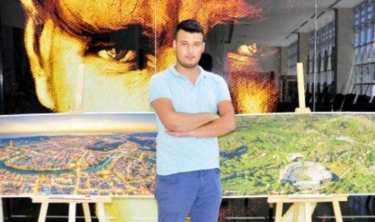 Antalya'da panoramik drone fotoğrafları sergisi açıldı