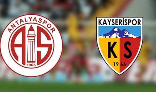 Antalyaspor lige kötü başladı