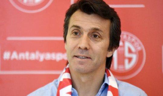 Antalyaspor Teknik Direktörü'nden taraftara çağrı