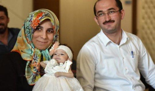 Babası minik kızının hayatını böyle kurtardı