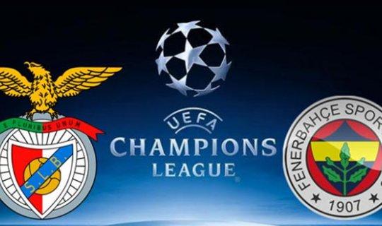Benfica-Fenerbahçe maçı saat kaçta, hangi kanalda?