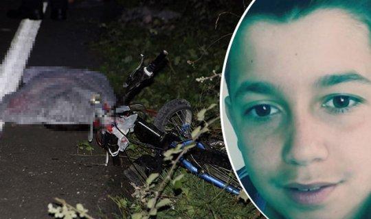 Bisiklet süren 15 yaşındaki çocuğa otomobil çarptı