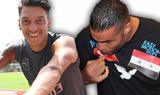Dünya Şampiyonu boksörden Mesut Özil'e destek