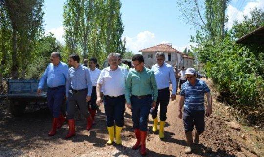 Elmalı'daki sel faciasının yaraları kapatılıyor