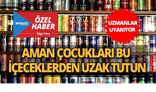 Enerji içeceği çocuklar için zararlı mı?