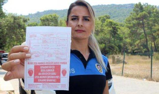 Kemer'de polislerden 'şaka ceza' uyarısı