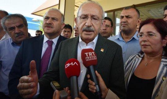 Kılıçdaroğlu'nun olağanüstü kurultay açıklaması