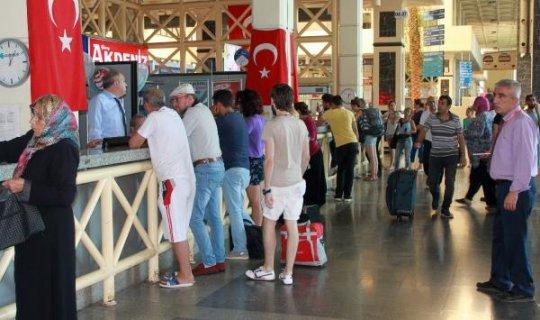 Kurban Bayramı için otobüs biletleri yok satıyor