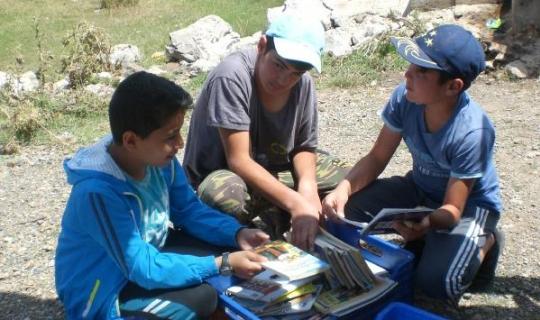 Manavgat yaylalarında 15 bin okur kitapla buluştu