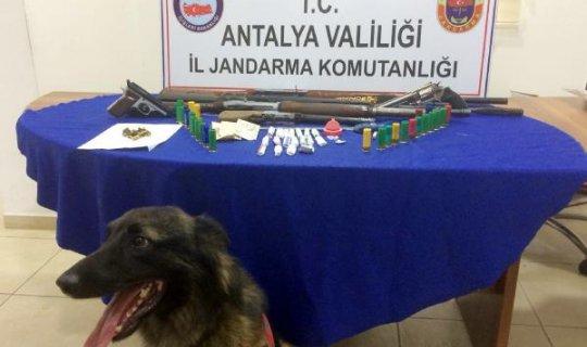 Manavgat'ta uyuşturucu operasyonu, 1 kişi tutuklandı