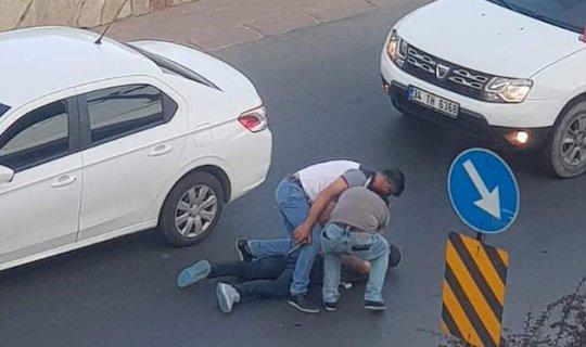Polis suçluyu kıskıvrak yakaladı