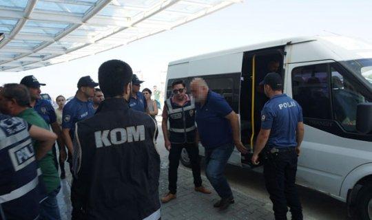 Rüşvet operasyonunda 7 kişi tutuklandı