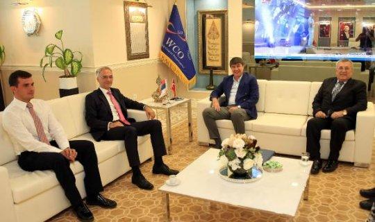 Sırbistan Büyükelçisi Markoviç, Başkan Türeli ziyaret etti