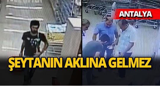 Antalya'da böyle hırsızlık görülmedi!
