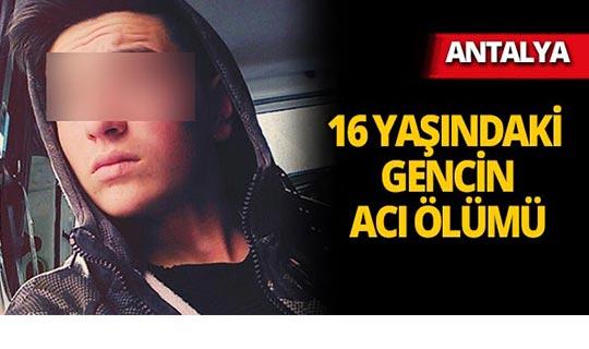 Antalya'da çakmak gazı hayatına mal oldu