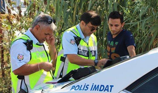 Antalya'da hatalı sürücüye af yok