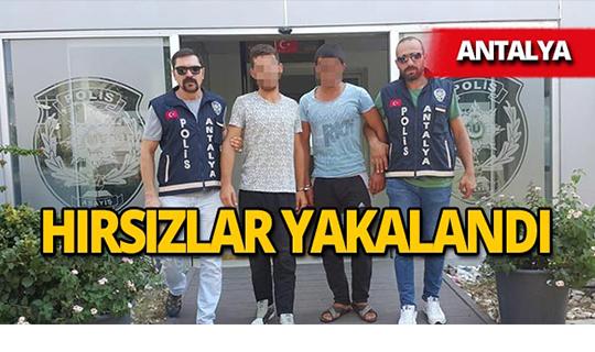 Antalya'da iş yerini soydular