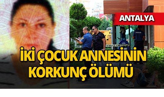 Antalya'da kafede korkunç intihar!
