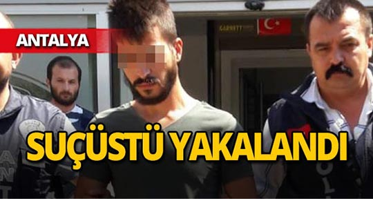 Antalya'da polisten suçüstü!