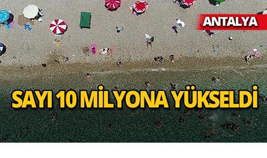 Antalya yeni rekorlara imza atıyor
