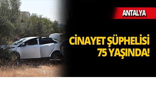 Antalya'daki cinayette 1 gözaltı
