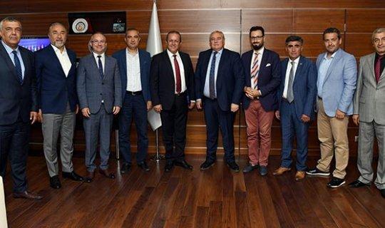 Bakan Ataoğlu'ndan ATSO'ya ziyaret