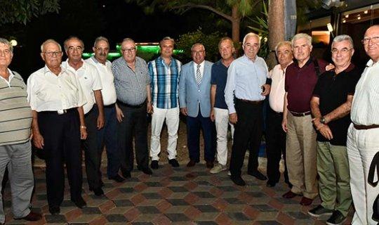 Başkan Uysal, CHP 1992 Antalya kurucuları ile buluştu