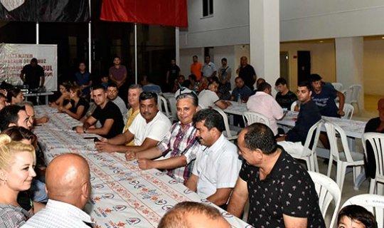 Başkan Uysal Muharrem orucu iftarına katıldı