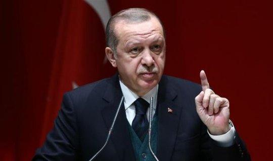 Cumhurbaşkanı Erdoğan'dan rest!