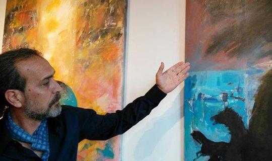 'Dört Renk Dört Yön' sergisi açıldı