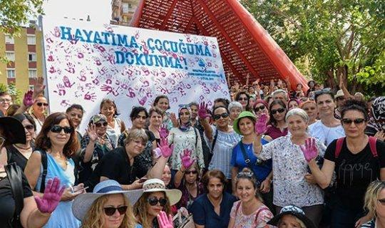 Festivale katılan kadınlar iz bıraktı