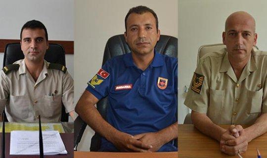 Korkuteli'nde göreve başladılar