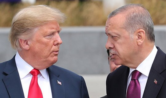 ABD Başkanı Trump'tan Cumhurbaşkanı Erdoğan'a teşekkür