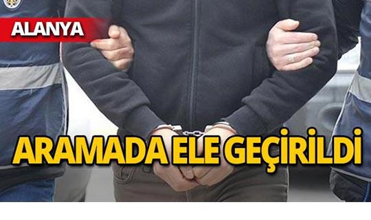 Alanya'da operasyon : 3 tutuklama!