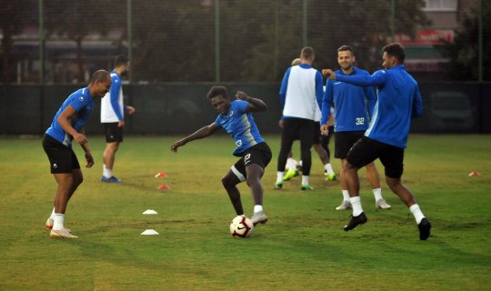 Alanyaspor'dan Bursaspor maçı öncesi mesai