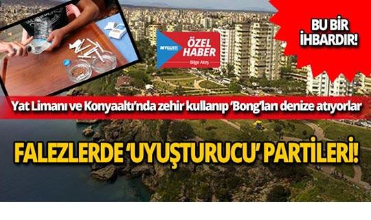 Antalya kıyılarında denizin altından çıkan şok görüntüler...