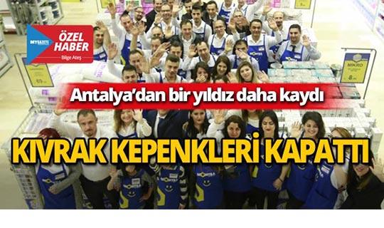 Antalya'nın köklü firmasından şok karar!